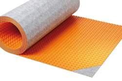 Rychlý účinek topení, doplňující kročejová izolace: Schlüter®-DITRA-HEAT-DUO